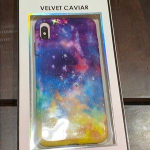 IPhone XS Max velvet caviar Carli Bybel case